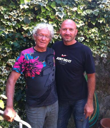 Stéphane et Christian TARGET, fondateur de la Méthode TARGET